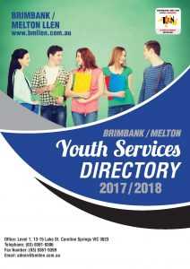 2017/2018 Brimbank Melton Youth Services Directory