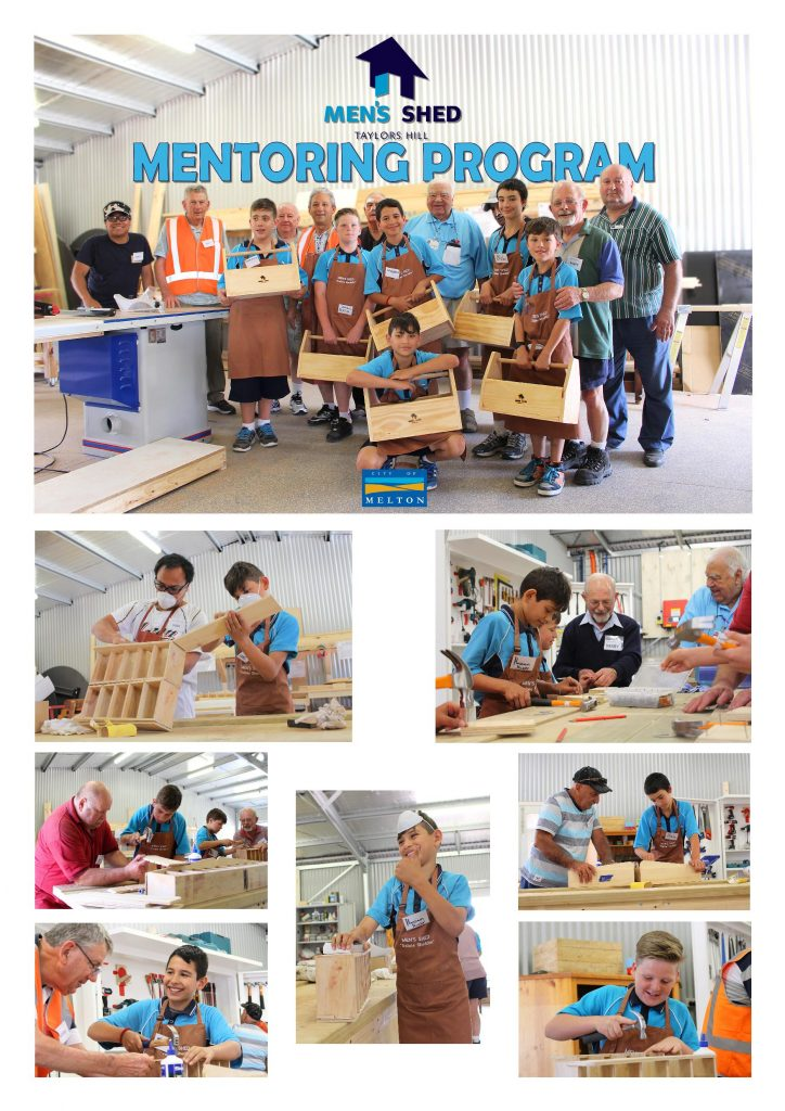 Taylors Hill 2015 Men's Shed Mentoring Program