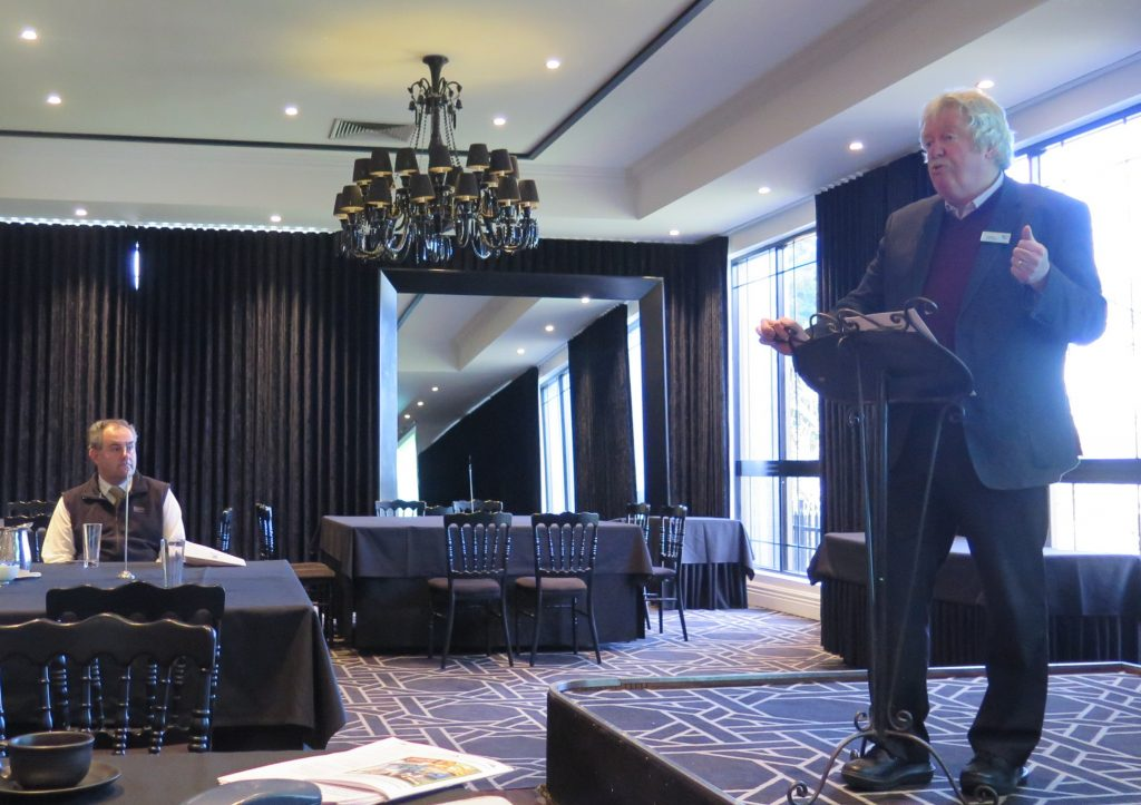 Darryl Sutton with Tim Davey