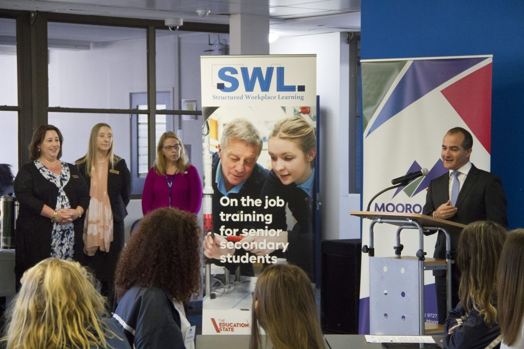 Minister James Merlino at the SWL Portal Launch, 6 May 2016