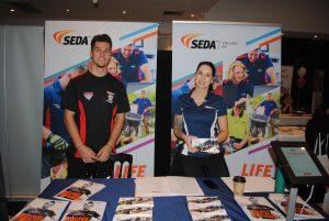 SEDA exhibitors