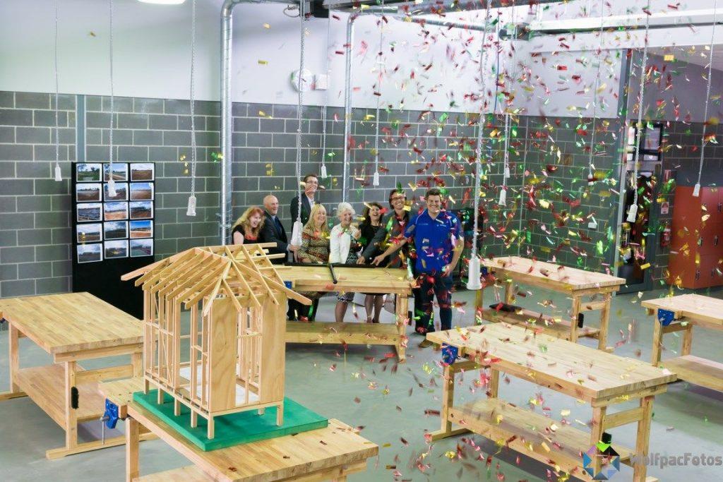 Staughton College-Trade Training Centre Opening